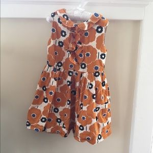 Mini Boden Sleeveless Floral Dress